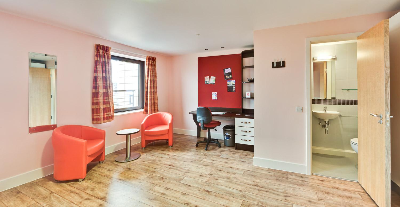 student accommodation photography edinburgh