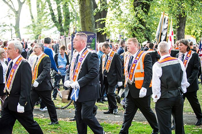 Orange Order Parade Edinburgh