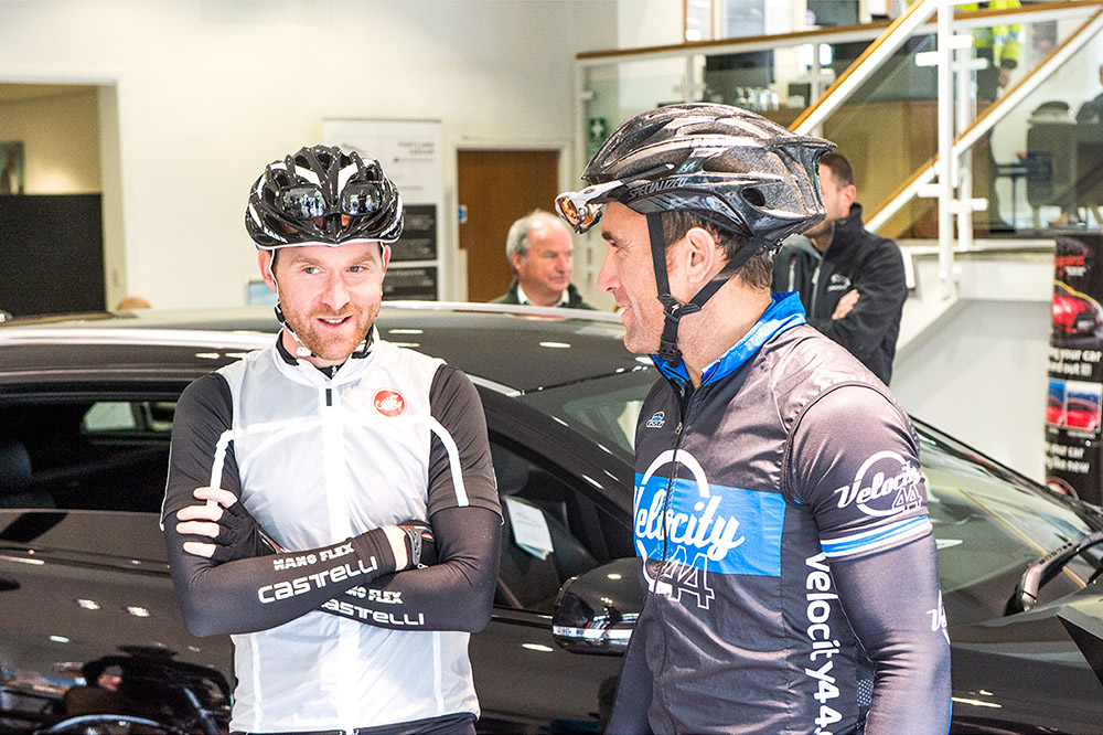 Team Sky Ride Edinburgh 2014