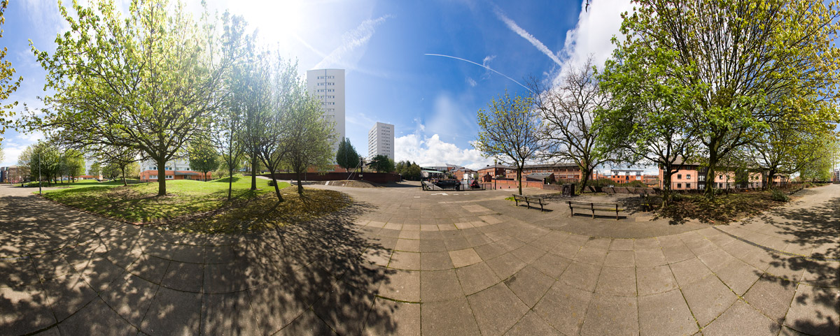 Birmingham Canal 360 degree panoramic