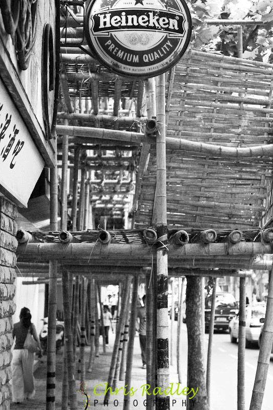 Shanghai Bamboo Scaffolding