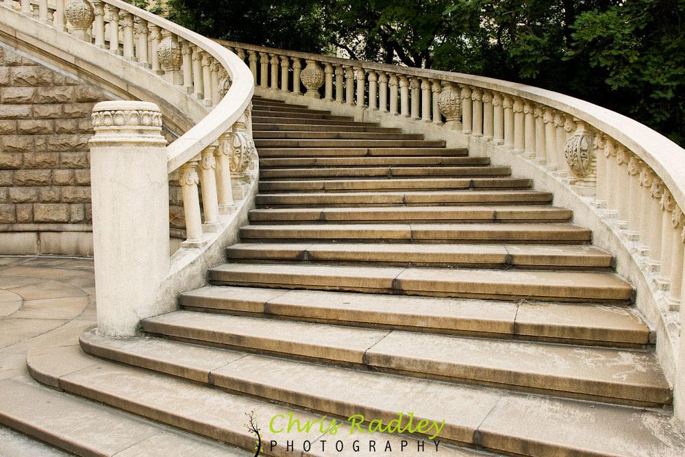 Shanghai Exhibition Centre Steps
