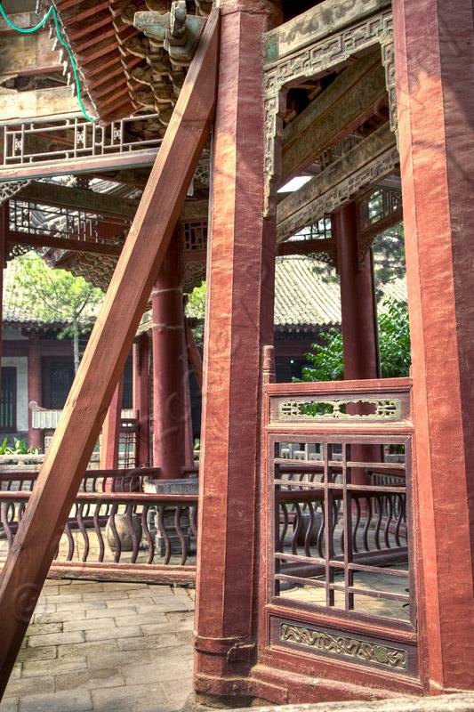 Xian Great Mosque Beams