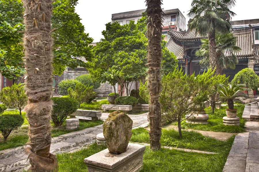 Xian Great Mosque Garden