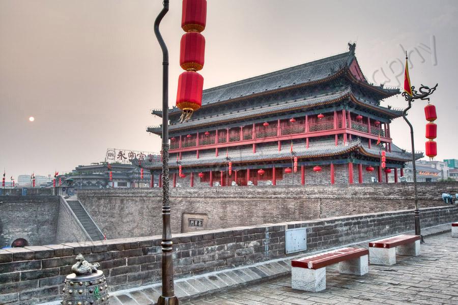 Xi'an City Wall Building