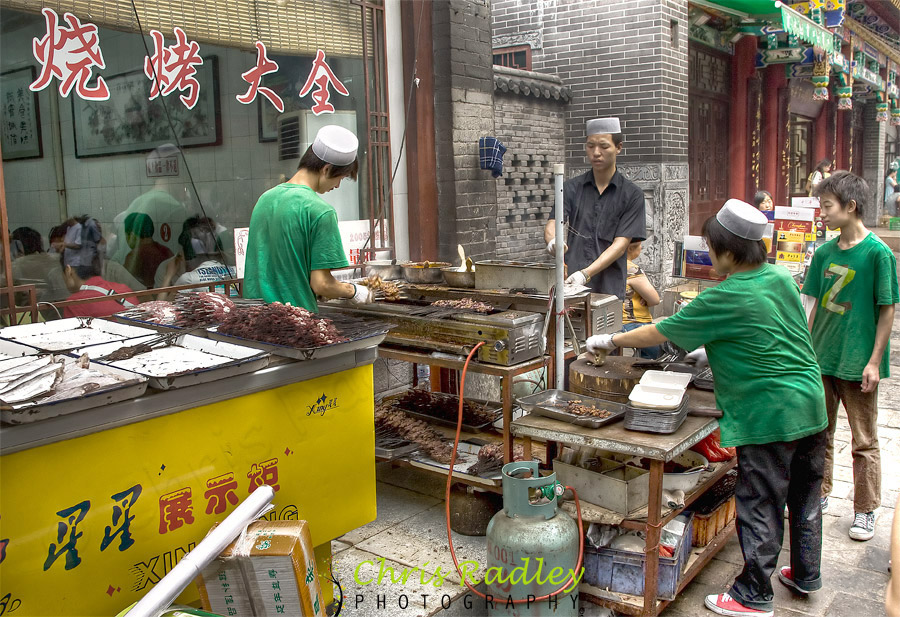Xian Muslim Street Barbeque