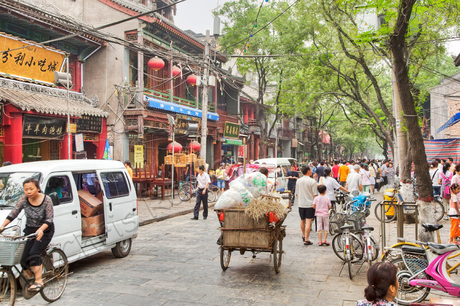 Xian Muslim Street Daily Life