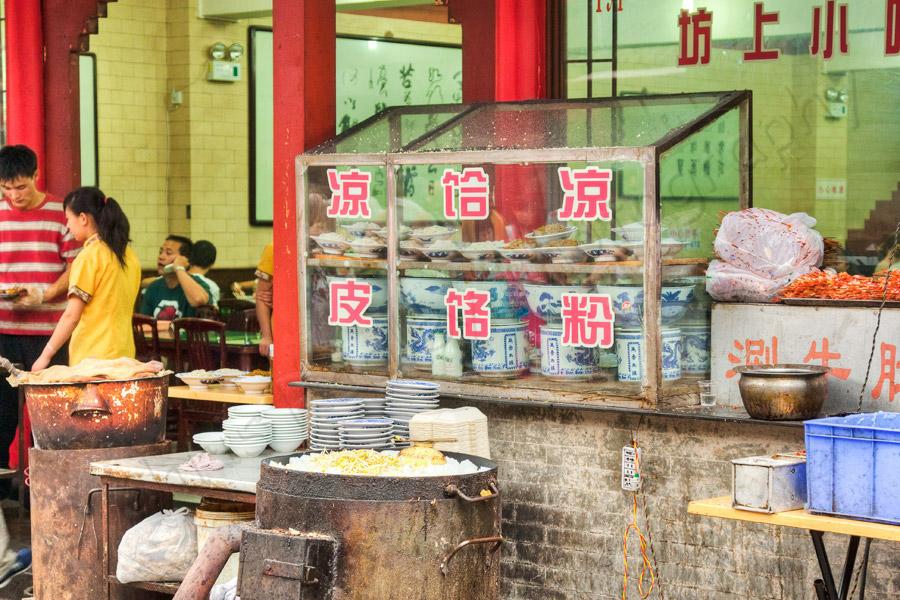 Fast Food Xian China