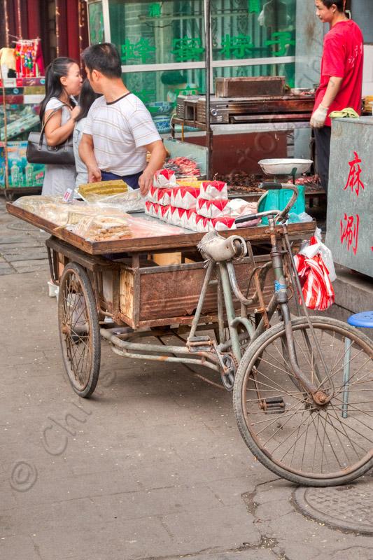 Worker in Xian