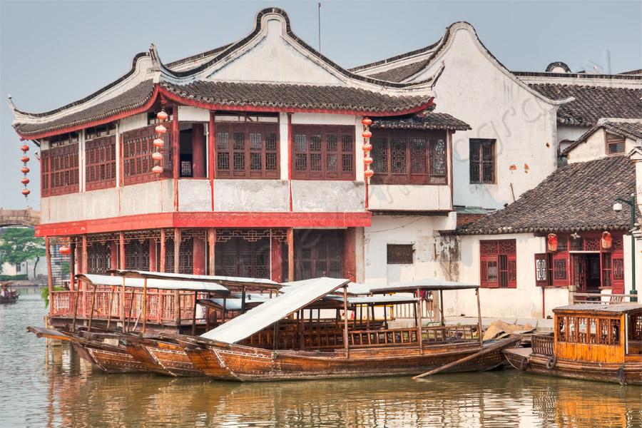 Building in Zhu Jia Jiao