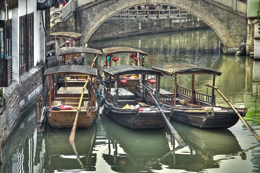 Boats in Zhu Jia Jiao