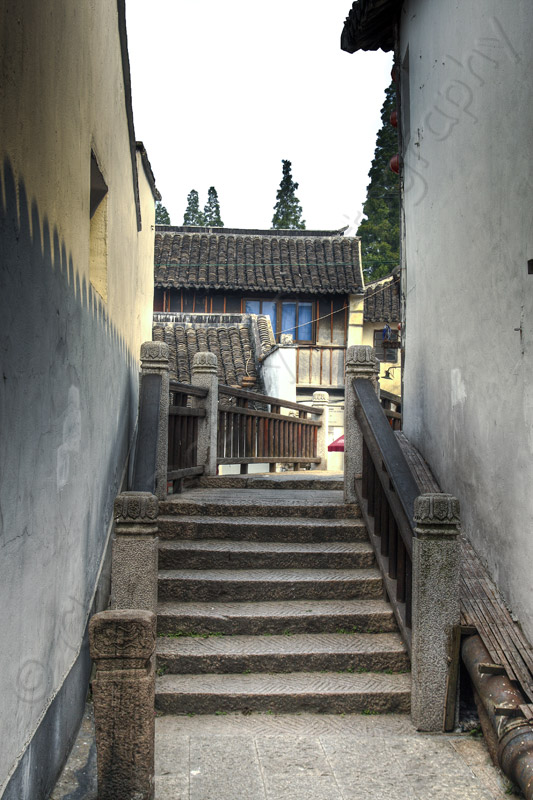 Passageway in Zhu Jia Jiao