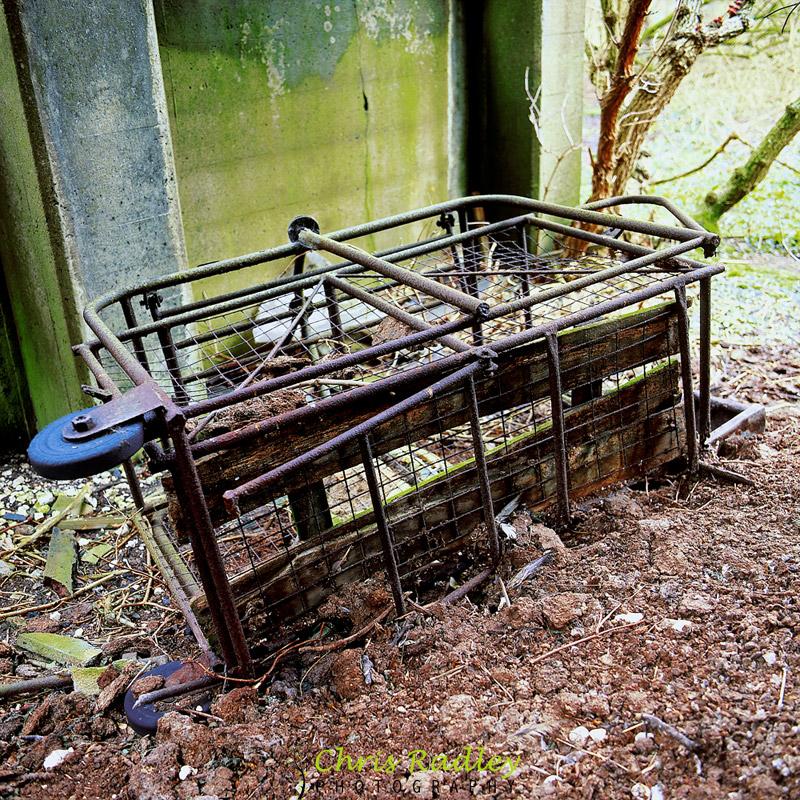 Wharram Percy limestone mine trolley