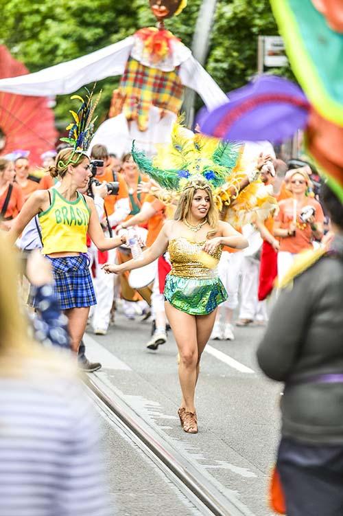 Edinburgh Jazz Festival Carnival Parade