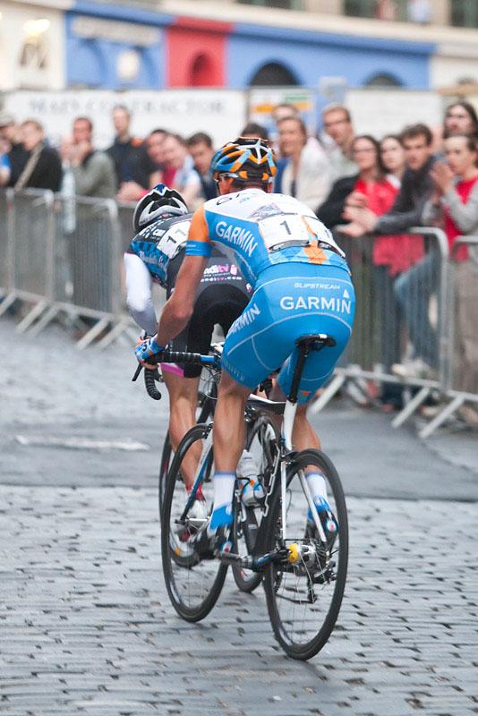 David Millar Edinburgh Nocturne Cycle Race