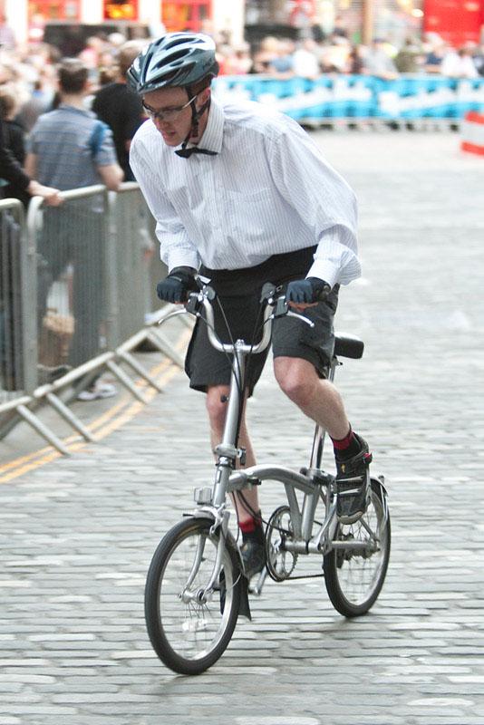 Edinburgh Nocturne Folding Bike Race