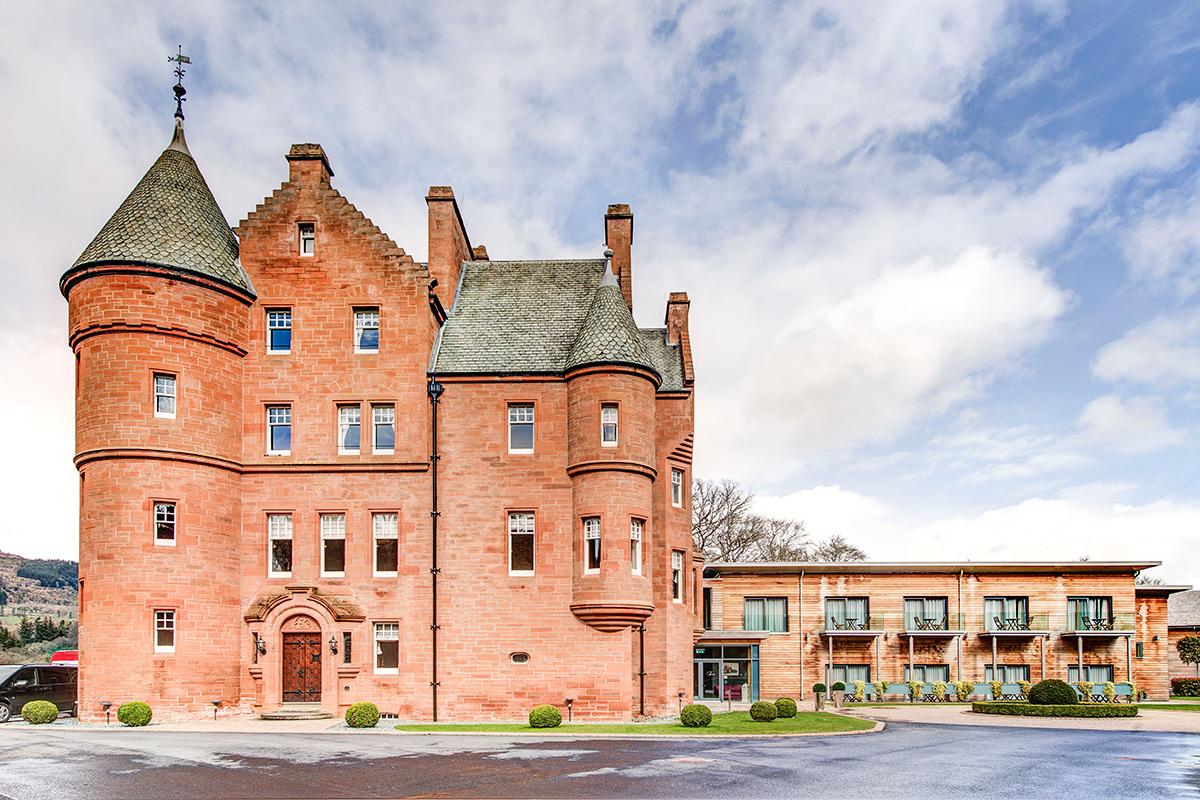 fonab castle hotel photography