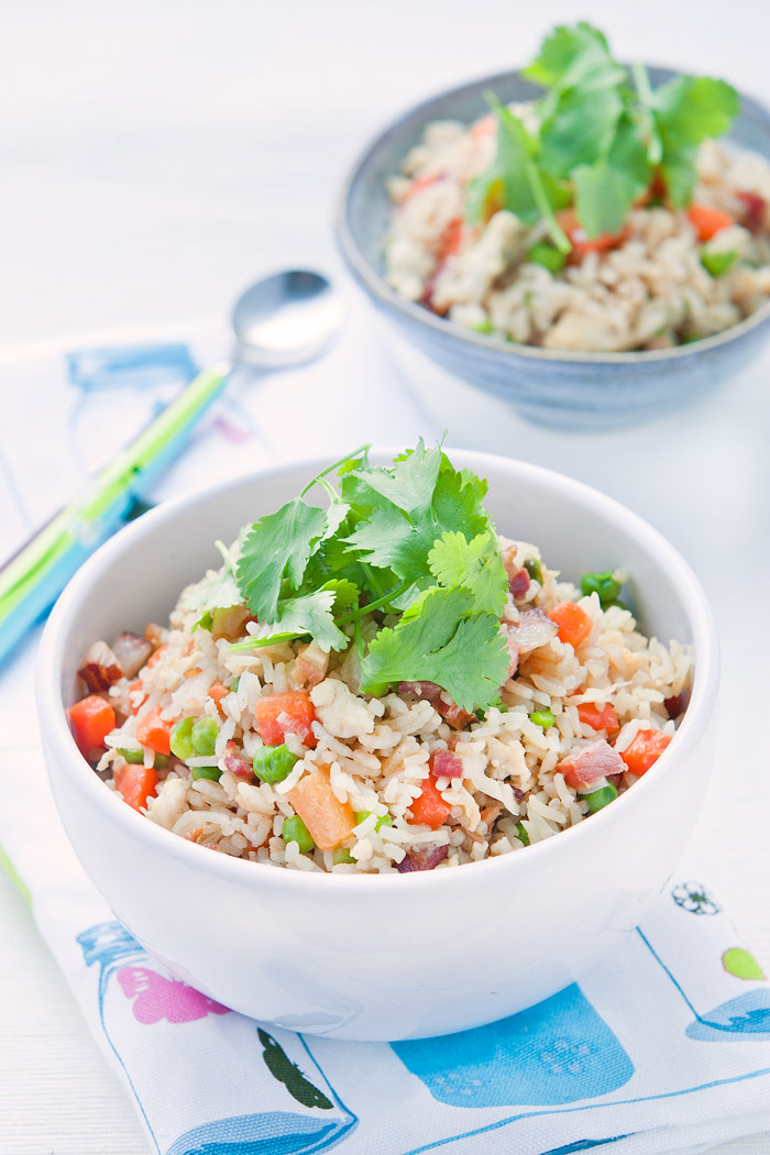 New Year Pork Fried Rice, the most delicious fried rice ever