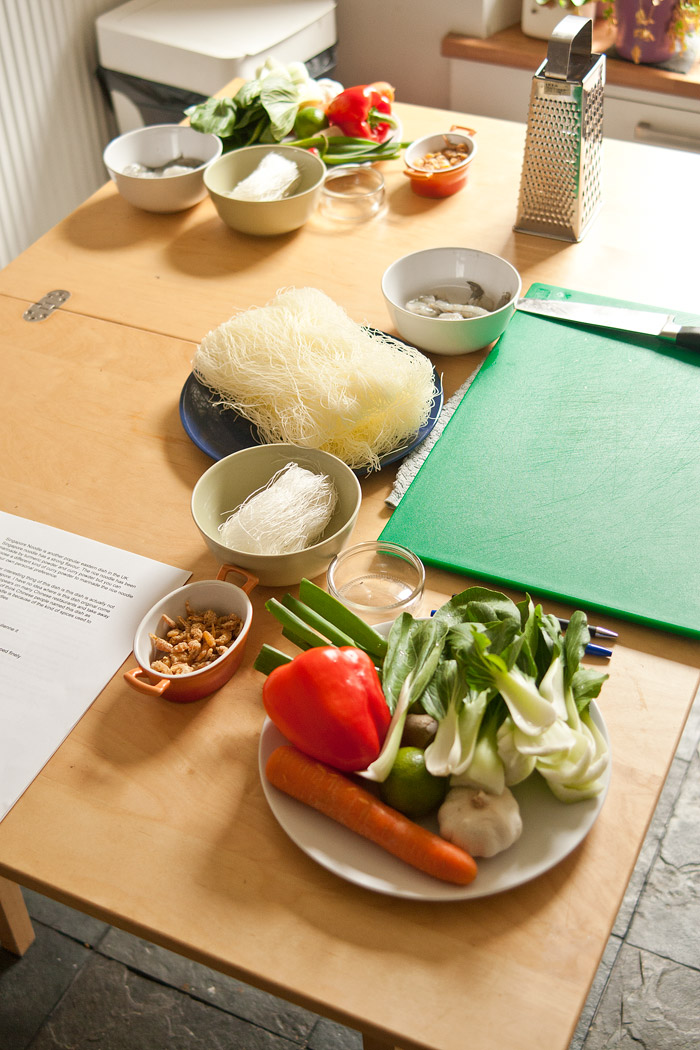 Chinese Cooking Class Ingredients