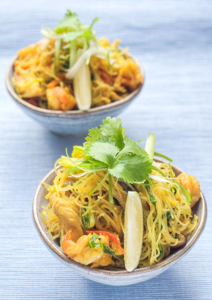 Singapore Noodles authentic recipe