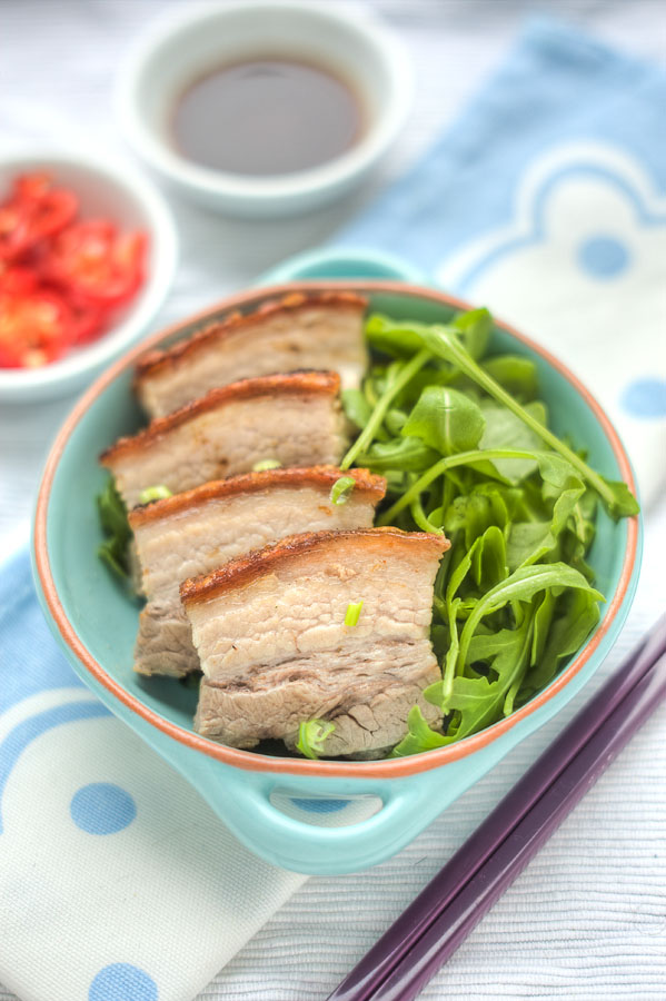 Cantonese Style Roast Crackling Pork