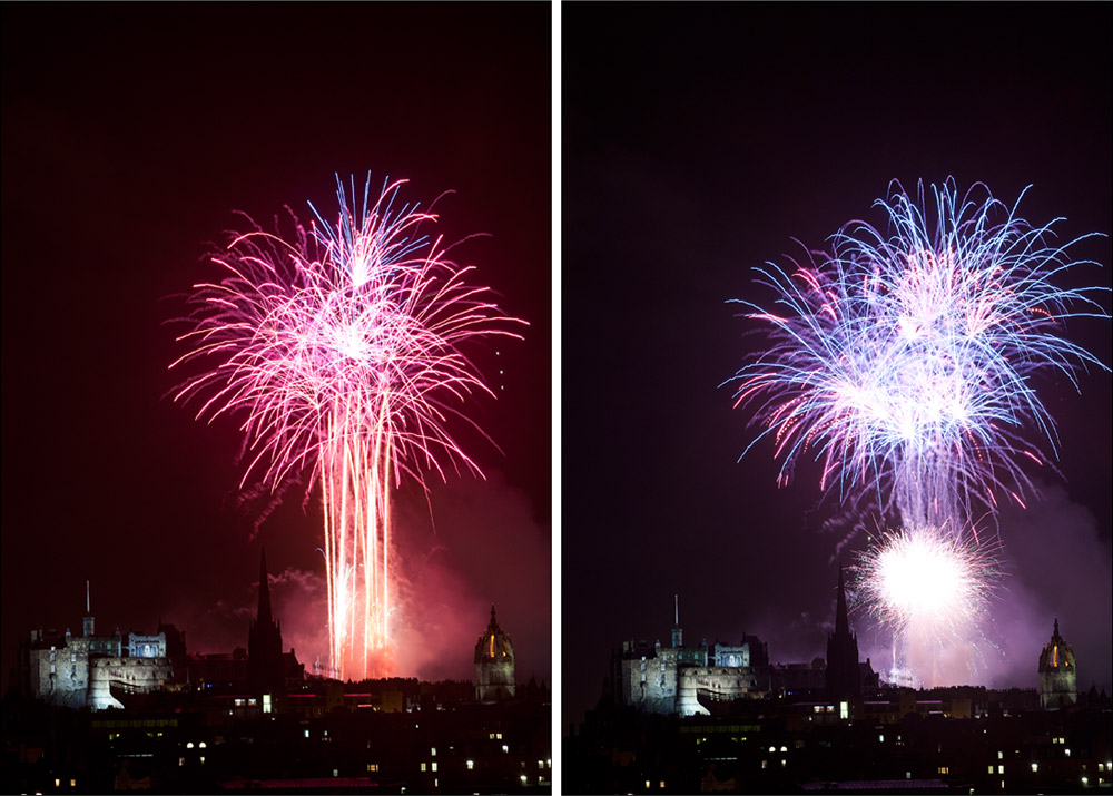 Fringe Festival Edinburgh Fireworks Display
