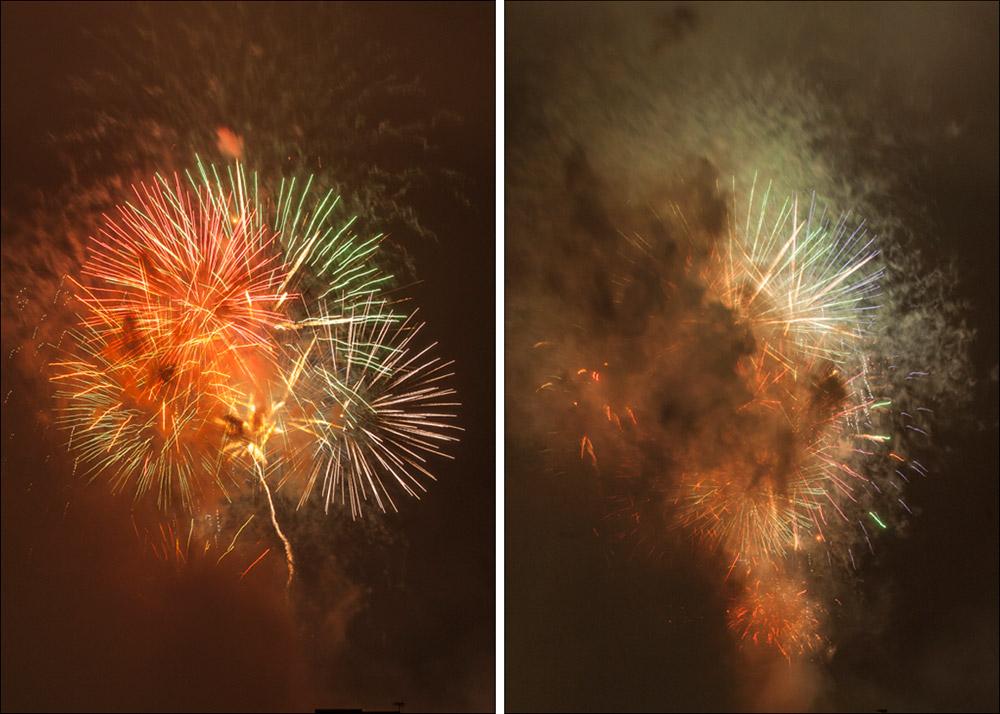 Virgin Media Fireworks Edinburgh 2013