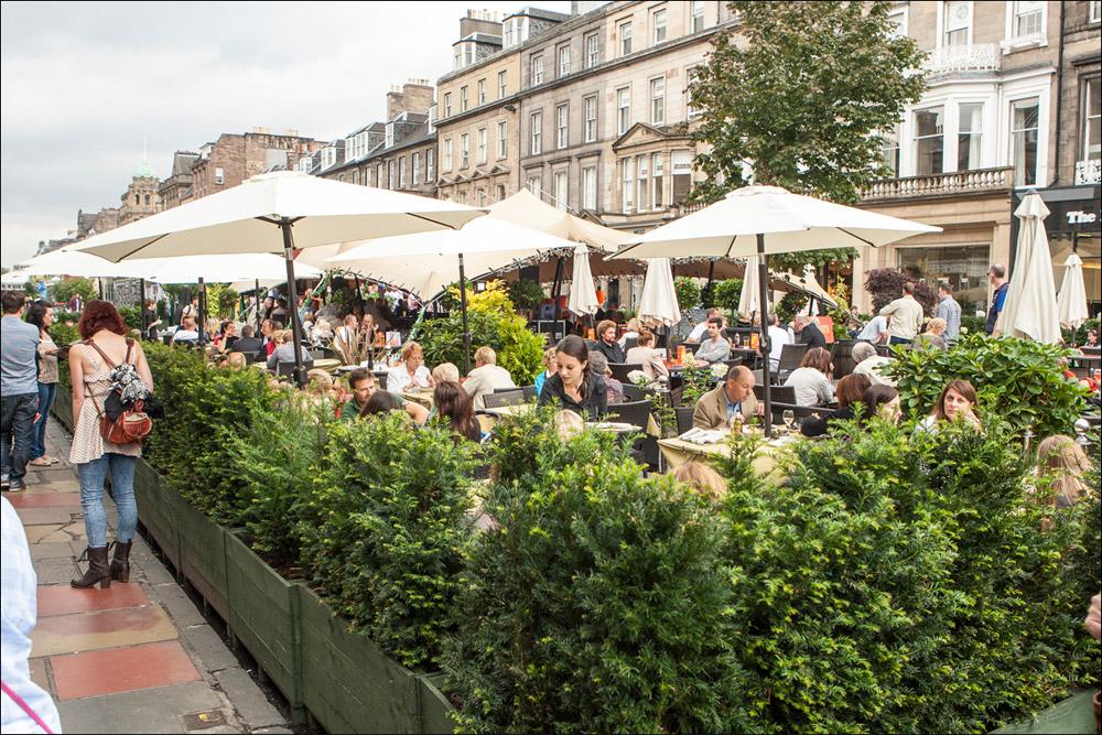 George Street Edinburgh Festival 2013