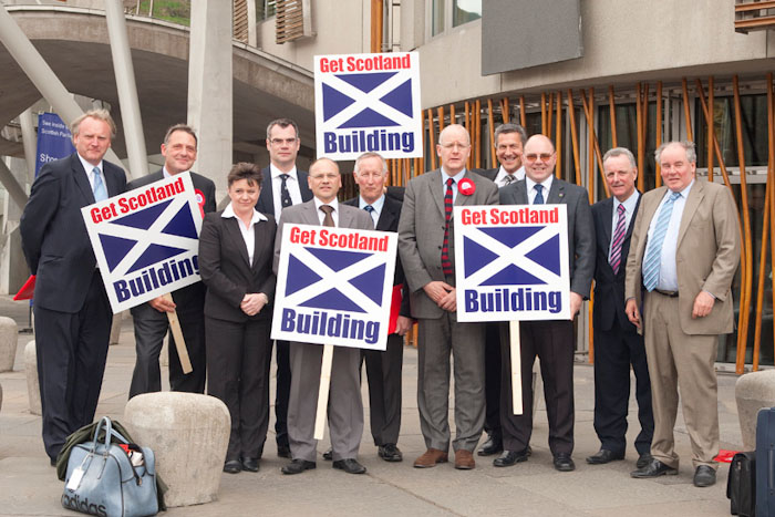get scotland building scottish parliament