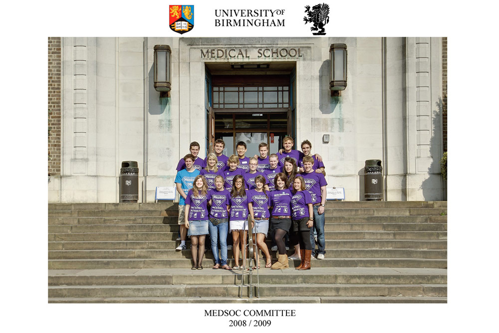 Freshers Week Group Photography