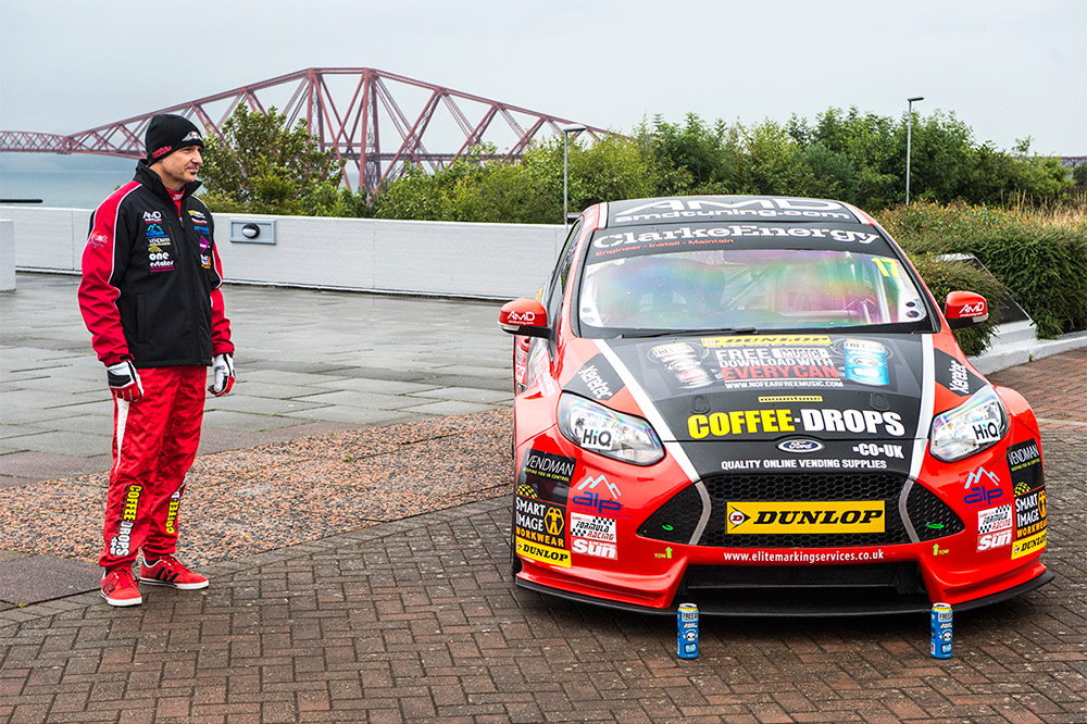 David Newsham BTCC forth bridge