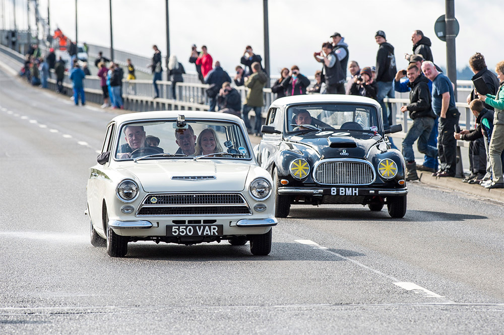 Jim Clark Forth Road Bridge Parade