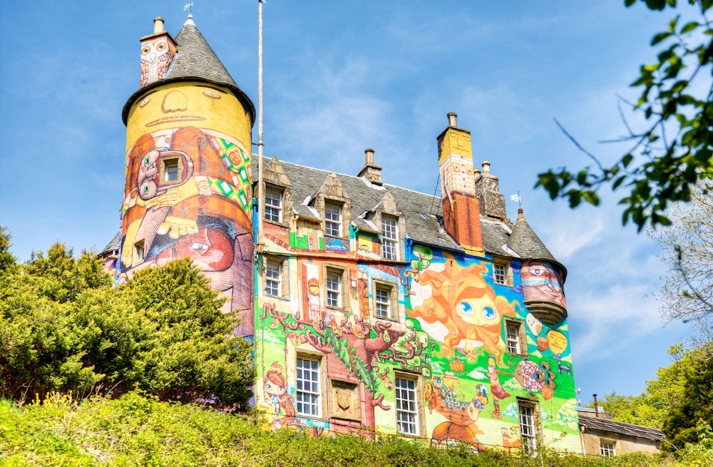 Airbnb For Cars >> Kelburn Castle Graffiti Castle - Chris Radley Photography