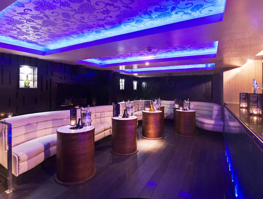 Shanghai Nightclub Edinburgh VIP Bar