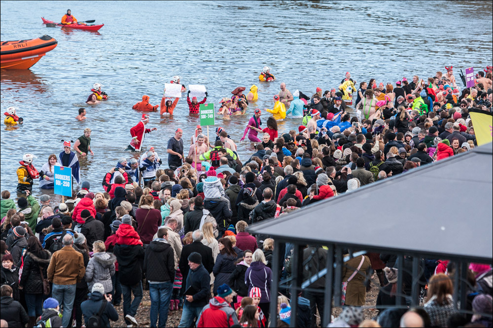 Loony Dook South Queensferry Edinburgh 2013