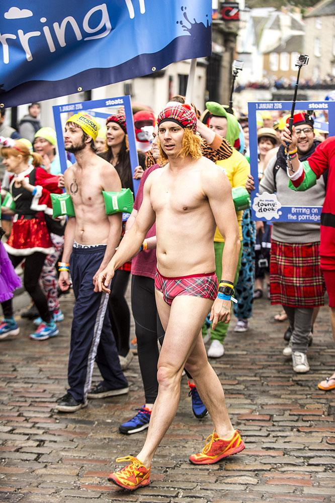 Loony Dook Edinburgh 2016