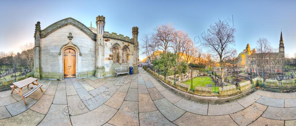 St Johns Church Edinburgh Panoramic