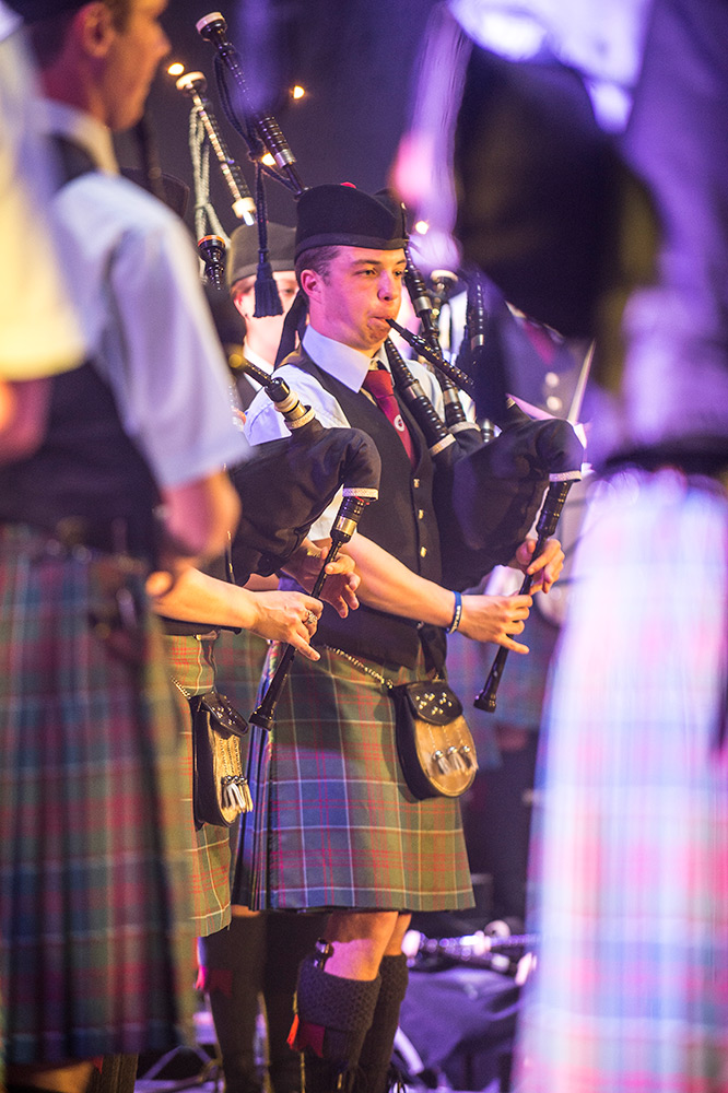 pipe band concert