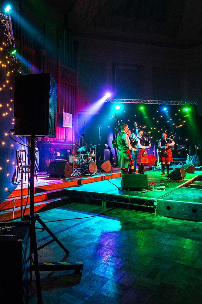 pipe band concert edinburgh