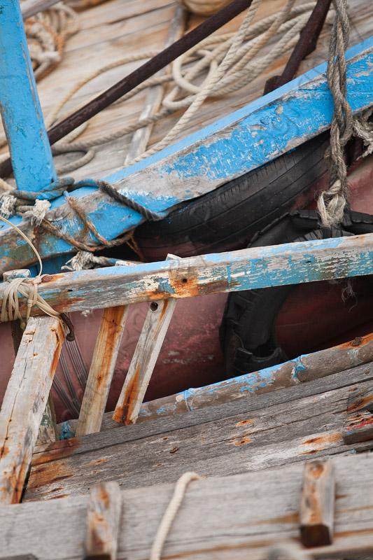 Kenting Fishing Boat Close Up