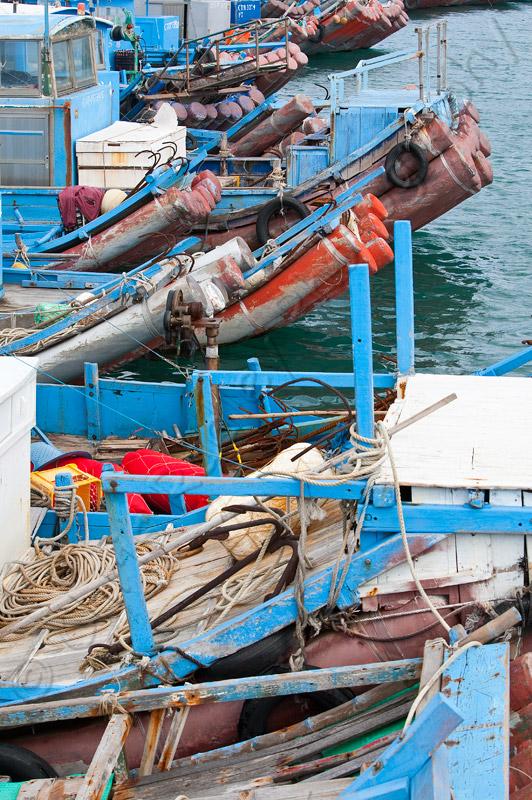 Kenting Taiwan Fishing Boats