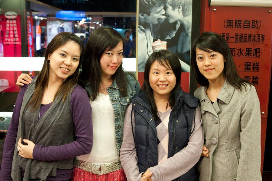 Liv and friends Taipei
