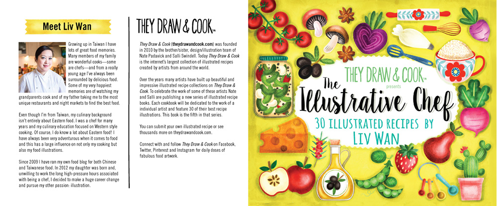 the illustrative chef illustrated cook book