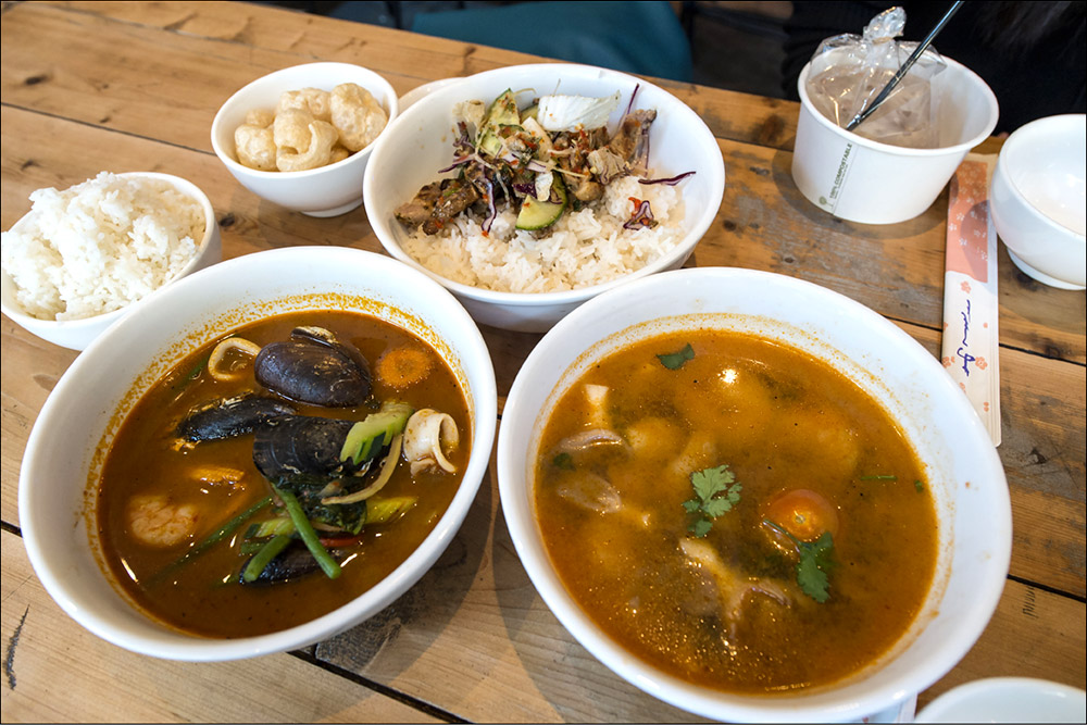 Ting Thai Caravan Restaurant Edinburgh
