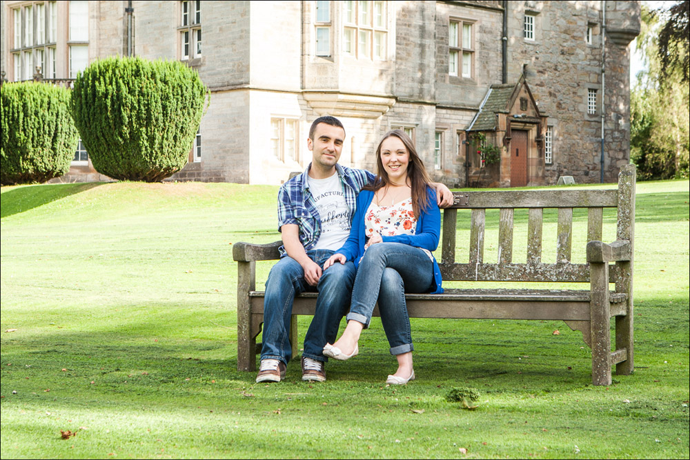 Lauriston Castle Edinburgh Wedding Portrait