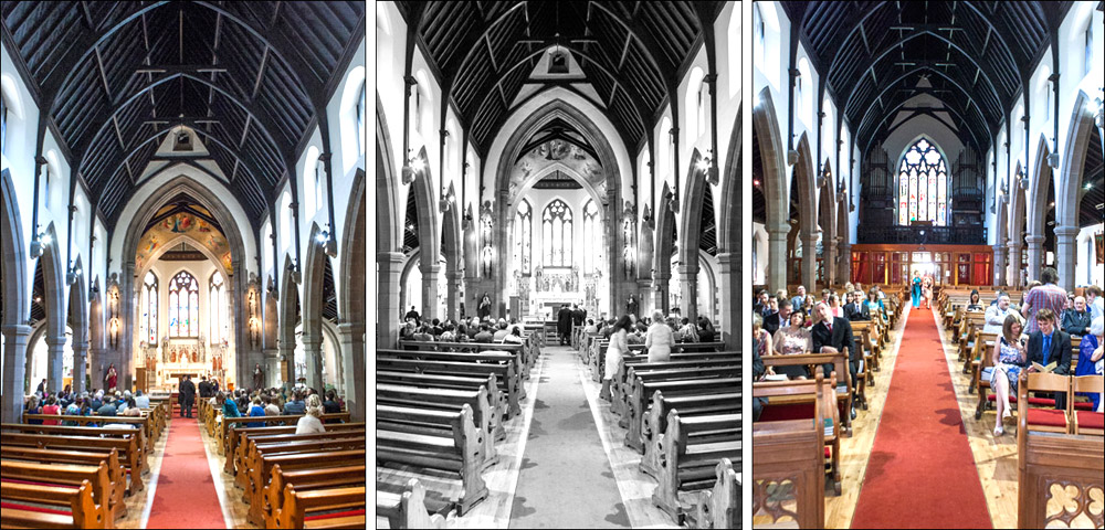 St Mary Star of the Sea Church Leith Edinburgh Wedding