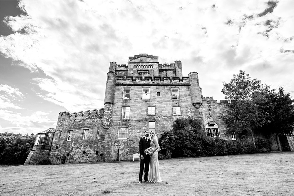 Dalhousie Castle Wedding