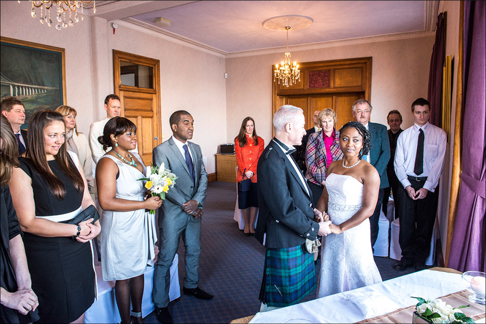 South Queensferry Registry Office Wedding