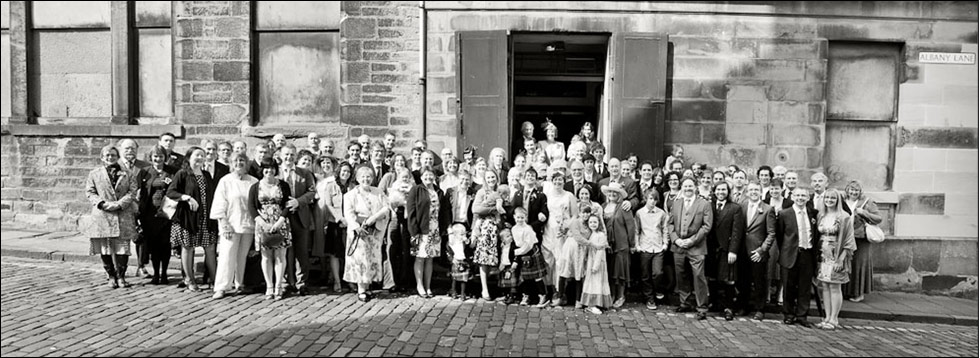 Glasite Meeting House Edinburgh Wedding