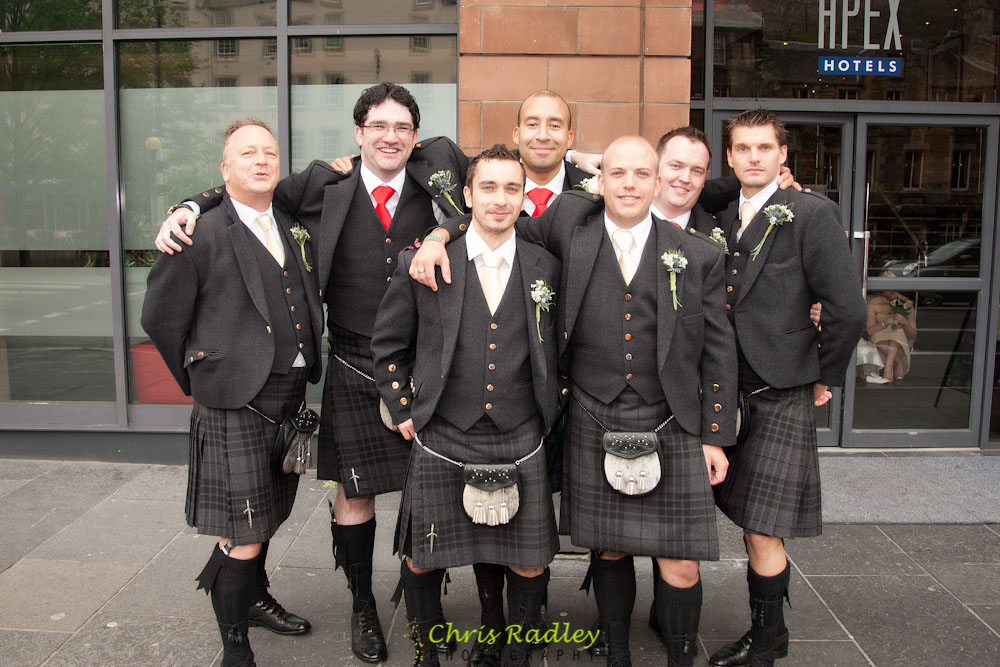 Apex International Hotel Edinburgh Wedding